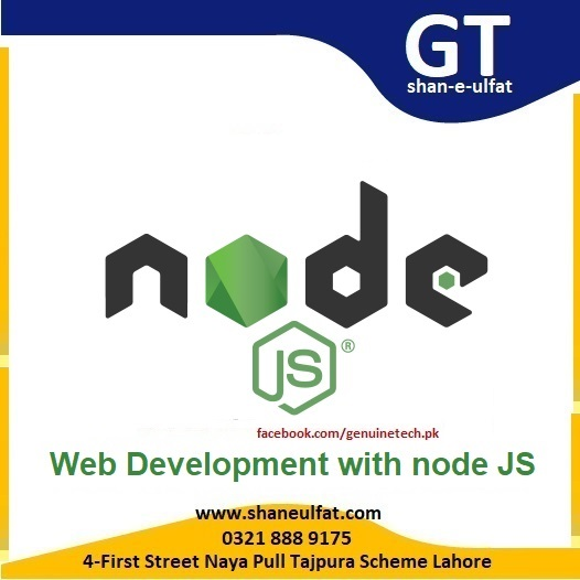 Node JS Trainings in Lahore Pakistan from shan