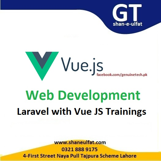 Vue JS Trainings with Laravel Framework Short Course from shan