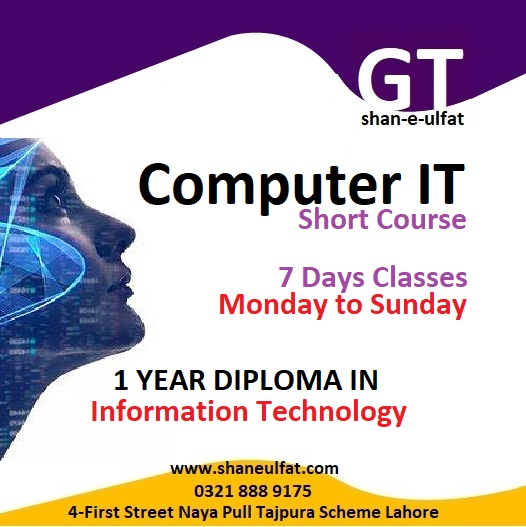Computer IT and Computer Science Courses with Shan Institute and Computer Education from GT