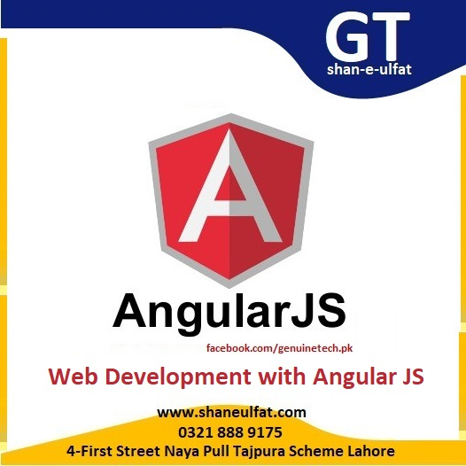 web development with Angular JS Trainings from shan