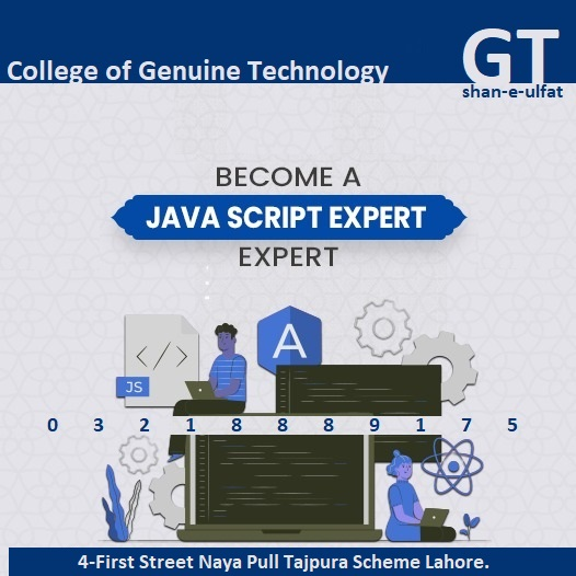 Become a JavaScript Expert Trainings in Lahore from GT
